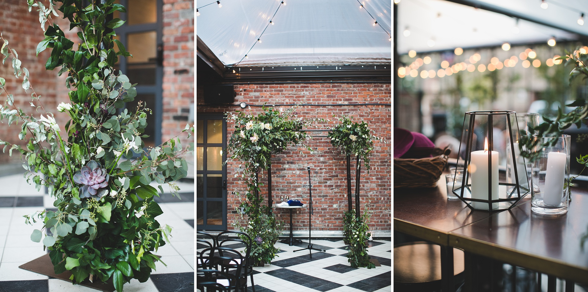 Exterior: A Williamsburg Wedding At The Wythe Hotel